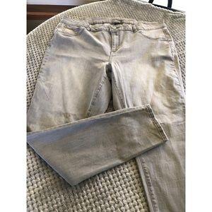 NWT Lane Bryant Grey Skinny Jeans Size 20